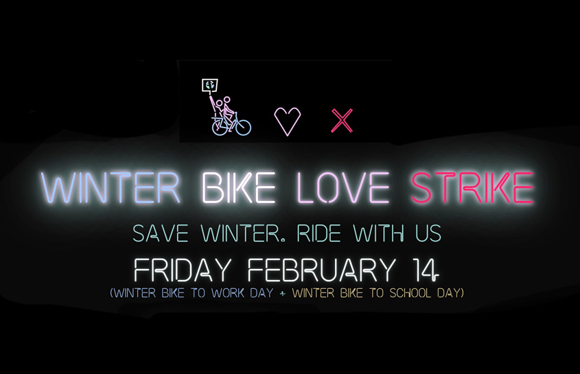 Winter Bike to Work Day 2020