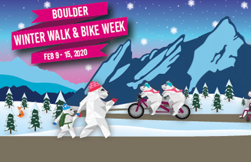 Winter Bike and Walk Week 2020